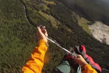 Vídeo de un rescate con cuerda directamente desde el Parque Nacional de Banff en Canadá