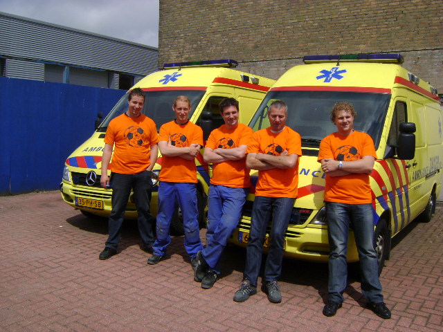 Del proyecto al producto: Visser Leeuwarden construye ambulancias y vehículos de socorro. Historia de un éxito
