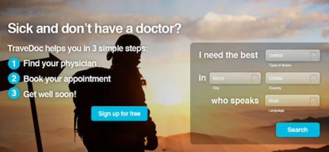 TraveDoc aide les touristes à trouver des médecins qui parlent leur langue