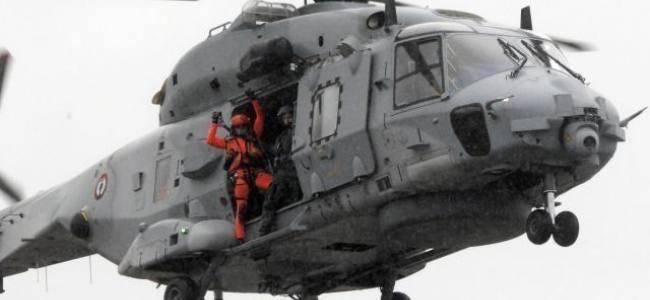 Evacuation médicale à Penmarc'h; Un passager de crisière hélitreuillé