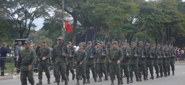 Exército vai reforçar o policiamento durante a copa em SP