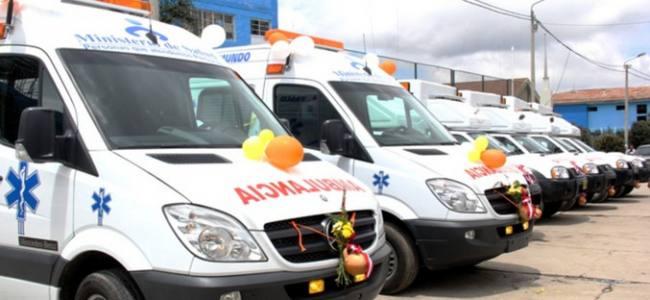 En Perú se compran ambulancias para centros de salud Lambayecanos