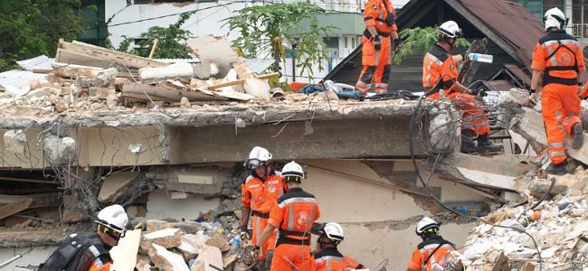 Colombia: Primer curso internacional en atención al desastre