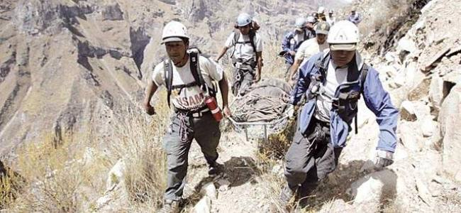 Perú: Capacitación en casos de emergencia a brigadistas de comunidades en región La Libertad