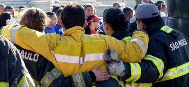 Dia do bombeiro é comemorado com desafio entre corporaçíµes da América Latina
