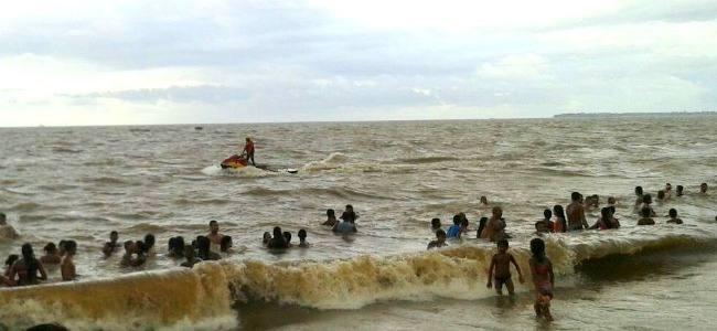 Fim de semana agitado nas praias Paraenses