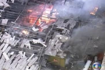 Caldeira explode em metalúrgica e causa incêndio em São Bernardo