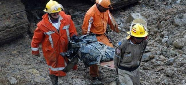 Colombia: Derrumbe en mina causa 7 muertos