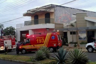 Bombeiros controlam princípio de incêndio