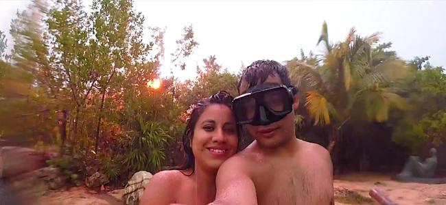 Cuidado con los selfies: Los rayos son peligrosos en todas partes