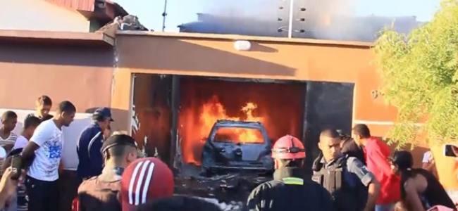Avião cai sobre residência no Maranhão