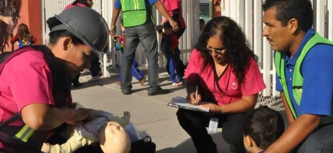 México: Primeros auxilios a medida de niños