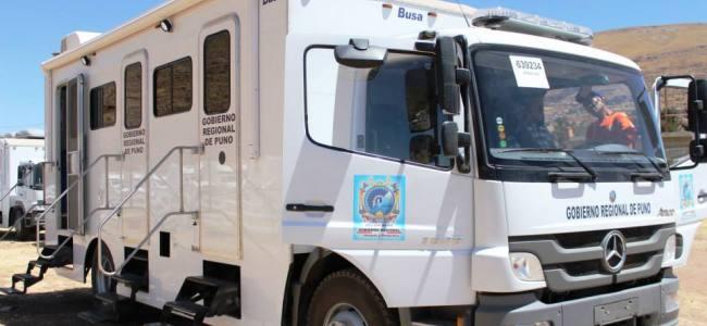 Gobierno Regional entregará 12 ambulancias y 11 hospitales móviles