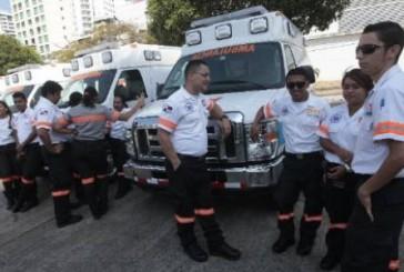 Sume 911 de Panama: 27 ambulancias con planes de aumentar la flota
