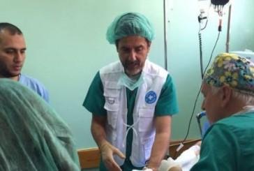 Médicos del Mundo: Más de 20 pacientes operados durante la última semana en Gaza
