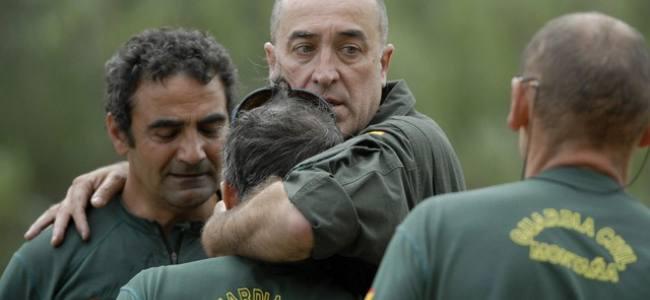 Tres guardias civiles mueren en un accidente de helicóptero en León