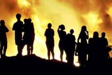 Capitão Palumbo vê indícios de incêndio noscrimio em favela