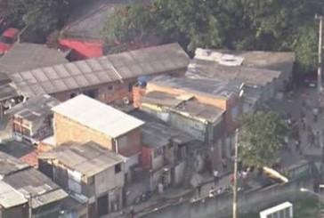 Incêndio atinge favela na zona oeste de São Paulo
