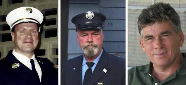 Três bombeiros morrem no mesmo dia em decorrência do 11 de Setembro