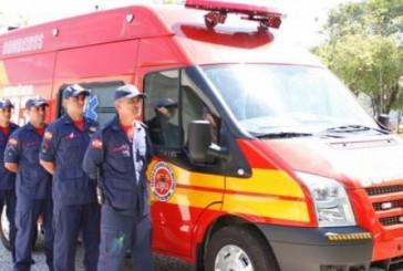 Corpo de Bombeiros de Criciúma SC recebe nova viatura
