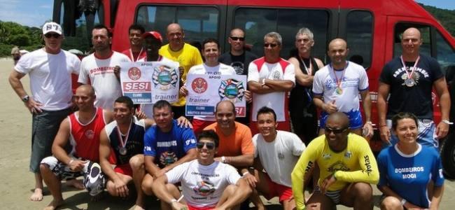 Bombeiros de Mogi das Cruzes são campeões da décima etapa de travessias aquáticas