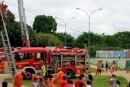 Corpo de Bombeiros realiza ação preventiva no DF