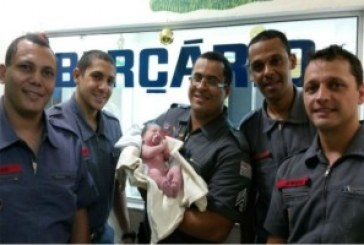 Bombeiros realizam parto em Pindamonhangaba, SP
