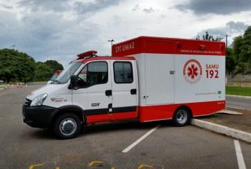 SAMU do DF apresenta novas viaturas para atendimentos de múltiplas vítimas
