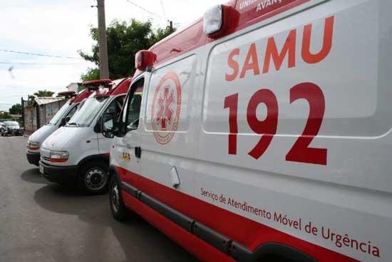 Ambulância do Samu tem chave furtada
