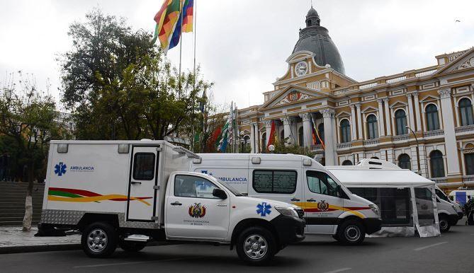 La Paz Entrega una moderna ambulancia