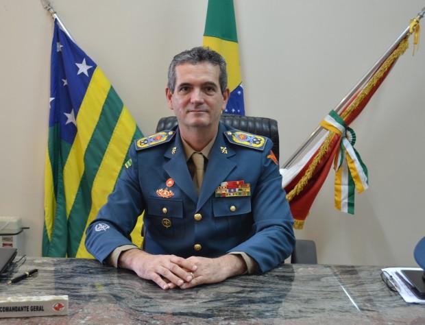 Coronel Helbingen assume novamente o comando geral dos bombeiros de Goiás