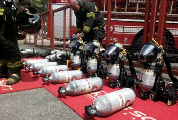 Bombeiros de São Paulo recebem novos EPRs