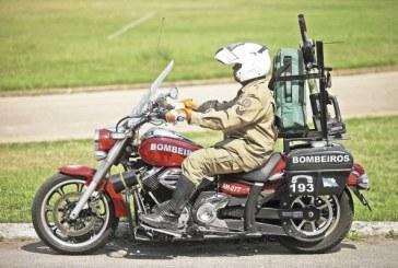 Novas motos dos bombeiros já estão em operação no Rio