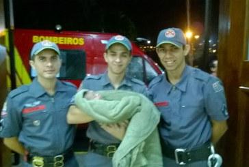 Bombeiros de Amparo salvam a vida de um bebê de 1 Mês