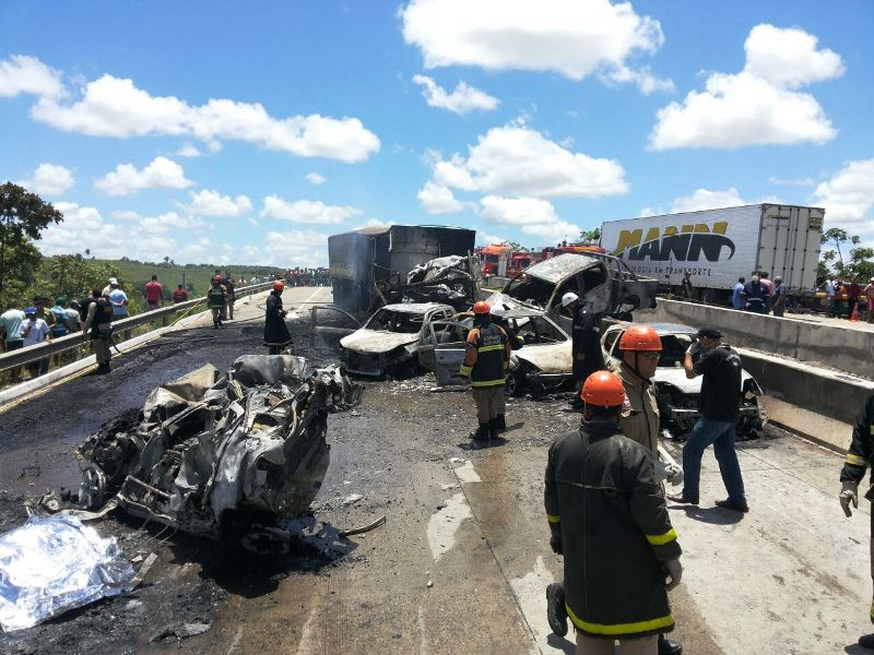 Grave acidente em Sergipe mata 3 pessoas