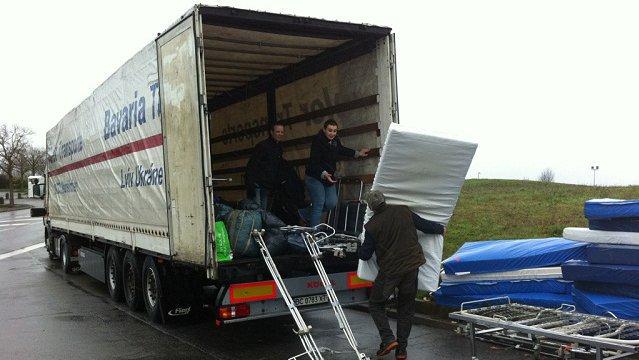 Un camion de matériel médical de Toulouse vers l'Ukraine