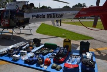 PM ganha novo helicóptero para resgates em São José dos Campos