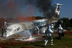 Simulation d'un crash aérien à Cointrin