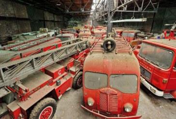 França abandona caminhões de bombeiros antigos