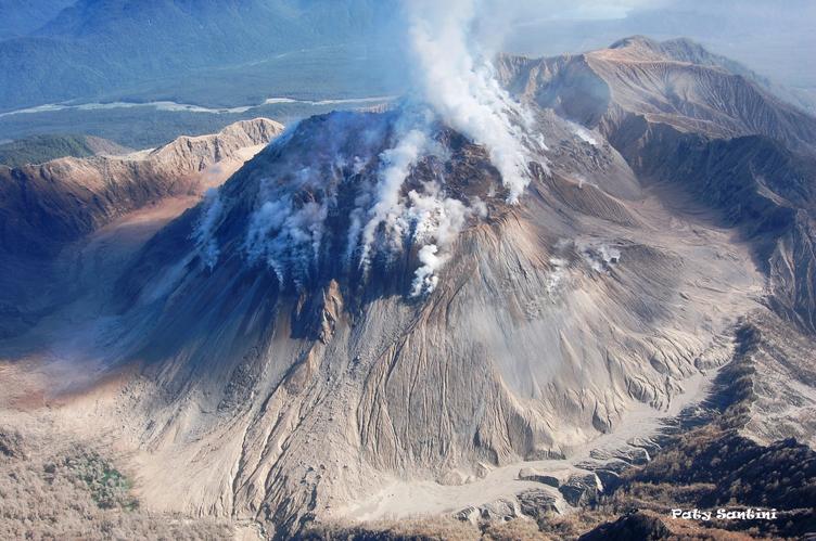 Chile: Monitoreo Alerta Amarilla por actividad del volcán Chaitén