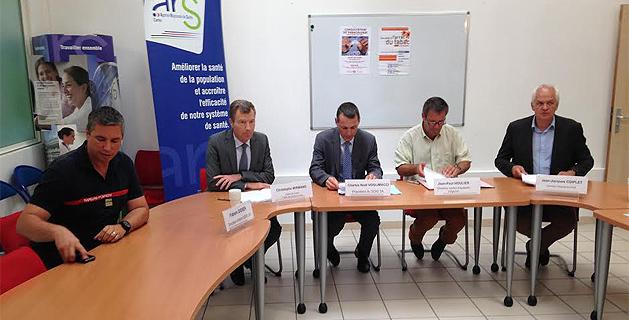 Convention cadre entre SAMU et SDIS2A