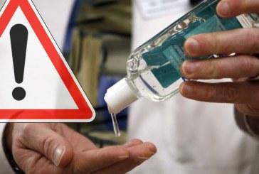 Les dangers des gels antibactériens