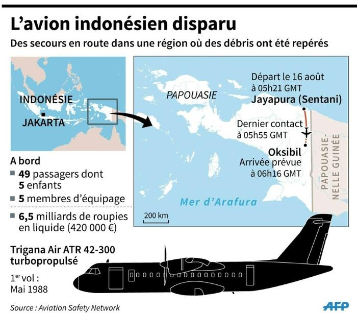 Indonésie: aucun survivant dans le crash de l'avion