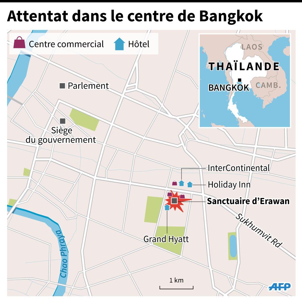 Attentat à Bangkok