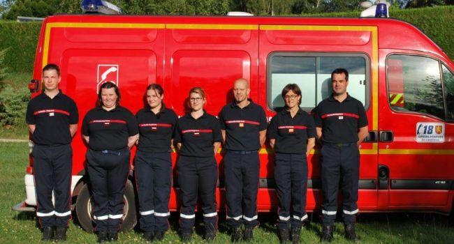 Nouvelle équipe chez les sapeurs-pompiers