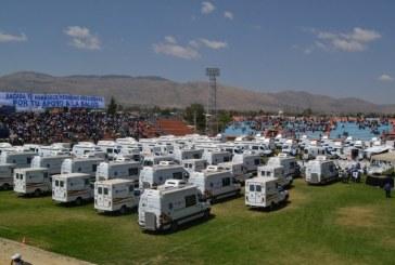 Bolivia:  Cochabamba recibirá 89 ambulancias