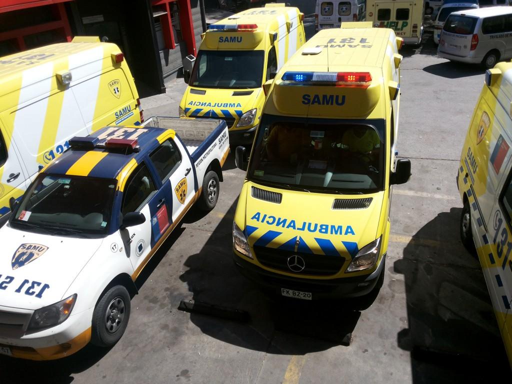 Chile: enfrenta déficit de infraestructura y ambulancias