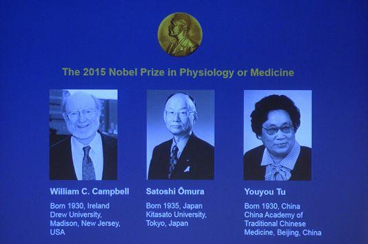 Prix Nobel de médecine: lutte aux maladies parasitaires