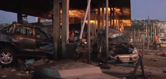 Un mort et sept blessés: le camion perd ses freins!