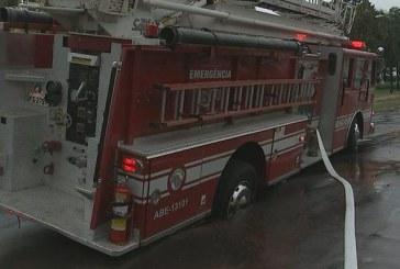 ABE da Pierce afunda no asfalto durante deslocamento no interior de SP